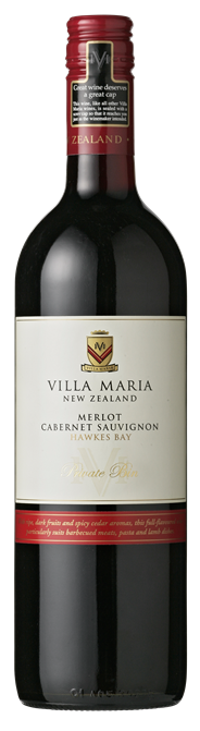 Villa Maria Merlot Cabernet Sauvignon 6 x 750 ml