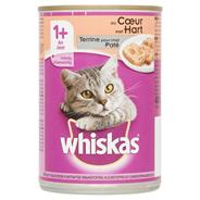 Whiskas Paté met hart 1+ jaar 12 x 400 gram