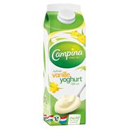 Campina Vanille yoghurt halfvol 1 liter