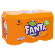 Fanta Orange blik 6 x 33 cl