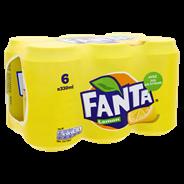 Fanta Lemon blik 6 x 33 cl