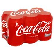 Coca-Cola 6 x 330 ml