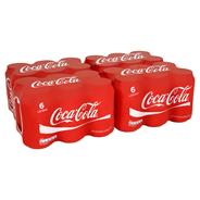 Coca-Cola blik 4 x 6 x 33 cl