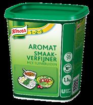 Knorr 1-2-3 Aromat tuinkruiden 1,1 kg