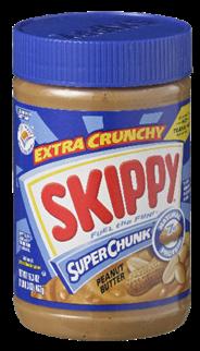 Skippy SuperChunk peanut butter 462 gram
