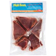 Tonijnsteaks 5 x 180 - 220 gram 900 gram