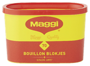 Maggie bouillonblokjes tainer 70 stuks