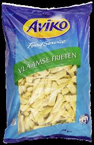 Aviko Vlaamse frieten 5 x 2,5 kg