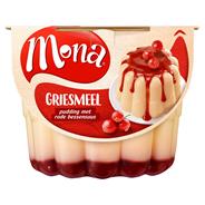 Mona Griesmeelpudding met rode bessensaus 450 ml