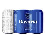 Bavaria Pilsener blik 4 x 6 x 33 cl