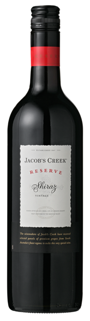 Jacob's Creek Shiraz Reserve 6 x 750 ml