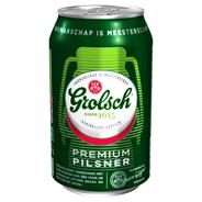 Grolsch Premium pilsener blik 4 x 6 x 33 cl