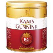 Kanis & Gunnink Hotel Melange Koffie Grove Maling Blik 2x1250g