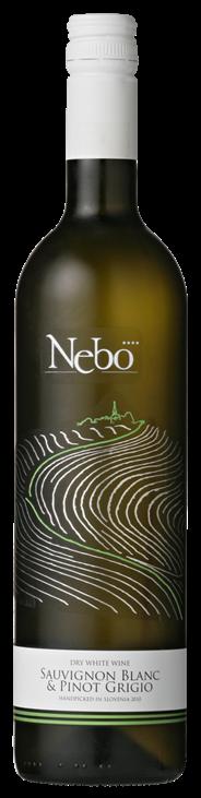 Nebo Sauvignon Blanc & Pinot Grigio 6 x 750 ml