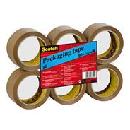 Scotch Verpakkingstape bruin 50 x 60 mm 6 stuks