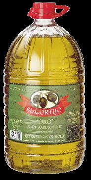 El Cortijo olijfolie met plantaardige olie 5 liter