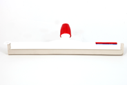 Sorbo Vloertrekker kunststof 45 cm wit