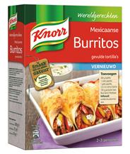 Knorr Wereldgerechten Mexicaanse burritos 223 gram