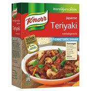 Knorr Wereldgerechten Japanse Teriyaki Maaltijdpakket 318 g