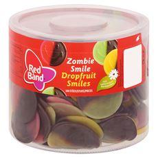 Red Band Dropfruit Smiles 100 Stuks 1200 g