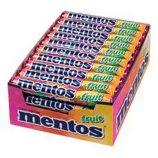 Mentos fruit 40 rollen