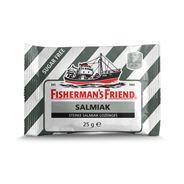 Fisherman's Friend Salmiak suikervrij 24 x 25 gram