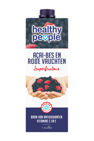 Healthy People açai-bes en rode vruchten 1 liter