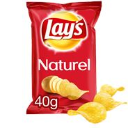 Lay's Chips Naturel 20 x 40 gram