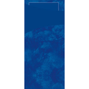 Duni Sachetto's donkerblauw 2-laags 100 stuks