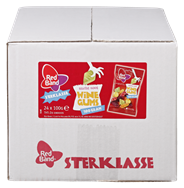 Red Band Sterklasse winegums 24 x 100 gram