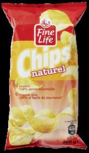 Fine Life Chips Naturel 20 x 200 gram