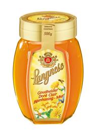 Langnese Goudhelder bijenhoning 500 gram