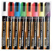 Securit Krijtstift 2-6 mm assorti 8 stuks