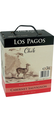 Los Pagos Cabernet Sauvignon bag in box 3 liter