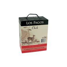 Los Pagos Cabernet Sauvignon bag in box 4 x 3 liter