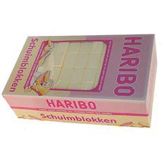 Haribo Schuimblokken 200 stuks