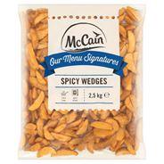 McCain Spicy Wedges 2,5 kg