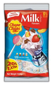Chupa Chups Milk 120 stuks
