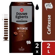 Douwe Egberts Cafitesse Koffie Intense Roast Utz 2l Pak
