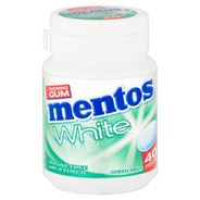 Mentos Gum White Green Mint 40 Stuks 6 x 60 g