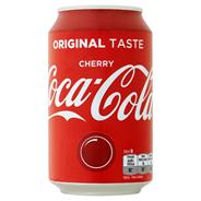 Coca-Cola Cherry blik 24 x 33 cl