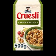 Quaker Cruesli appel & rozijn 500 gram