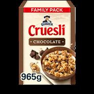 Quaker Cruesli chocolate 965 gram