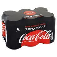 Coca-Cola Zero Sugar 6 x 330 ml