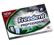 Freedent Professional White Spearmint 24 stuks