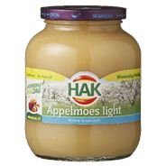 Hak Appelmoes light 6 x 720 ml