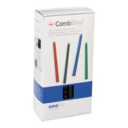 GBC CombBind Plastic Inbindruggen A4 12 mm Zwart 100 stuks