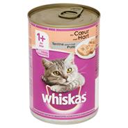 Whiskas Paté met hart 1+ jaar 400 gram