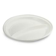 Horeca Select Plastic bord wit 2-vaks 100 stuks