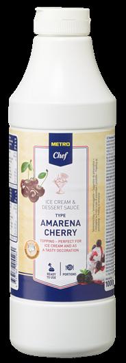 Horeca Select Amarena-kers dessertsaus 1 kg